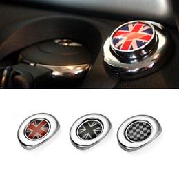 2019 cáscara chrysler Car Styling Etiqueta engomada del botón de encendido de encendido para Mini Cooper Countryman Clubman R55 R56 R57 R58 R59 R60 R61 Accesorios