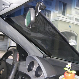 f3872317469 1PC 50 125cm Auto Retractable Side Window Car Sun Shade Curtain Windshield  Sunshade Shield Cover Mesh Visor Shield for Cars