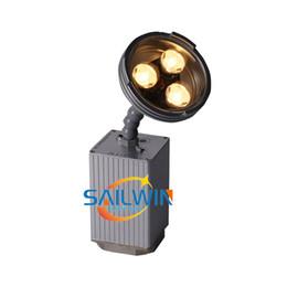 luz de escenario de alta potencia láser Rebajas 10X LOT Sailwin Nueva 9W Epin Bullte Cree Warmwhite DJ Etapa de luz LED con Pinspot litio BatteryMagnetic para el partido de boda