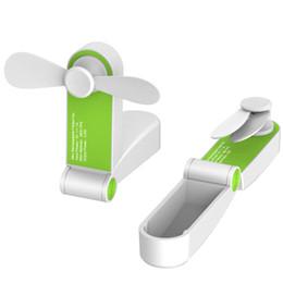 platten weniger Rabatt Wiederaufladbare tragbare Handheld Reise 2-Geschwindigkeit einstellbar Falten Mini handliche kleine USB-Lüfter für PC-Laptop-Computer