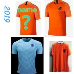 d269c418815 new 19 Holland soccer jersey home orange netherlands national team JERSEY  memphis SNEIJDER 18 19 V.Persie Dutch football shirts high quality