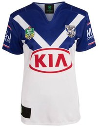 2019 transferencia de camisetas NRL National Rugby League Bankstown Bulldogs 2017 jersey Impresión de transferencia de calor por alta temperatura Camisetas de Rugby tamaño S-3X transferencia de camisetas baratos