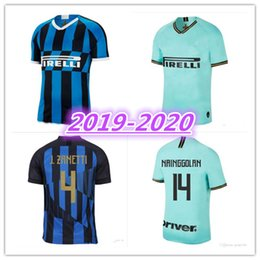 22ced7426 19 20 Inter jersey CANDREVA EDER ICARDI JOVETIC Milan home away Kondogbia  2019-2020 Icardi sports 18 19 inter shirts on sale