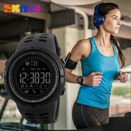 2020 relógio aplicativo SKMEI Remote Camera Assista pedômetro APP Chamada Lembre Pulseira Dormir relógio Homens Monitor para Android IOS 1250 relógio aplicativo barato