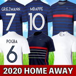 mejor camiseta de futbol blanca Rebajas france 2020 camiseta de fútbol euro cup 2020 francia camiseta de fútbol MBAPPE GRIEZMANN POGBA HERNANDEZ PAVARD VARANE GIROUD KANTE