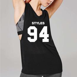 92a5ce636 T-shirts sans manches pour femme GYM Streetwear Été Lettre gilets  Débardeurs Débardeurs Pour Femmes Jogger T-shirt À Cou Ras Du Cou