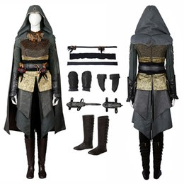 Assassins creed volles cosplay kostüm online-Sophia Rikkin Kostüm Assassins Creed Cosplay Halloween Full Set