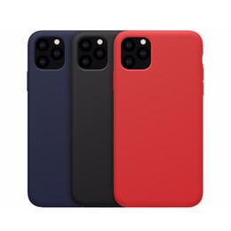 moda doce cor Soft Case para iPhone 11 pro Max X XS Silicone Líquido Tampa Cor Coque para Samsung s10 Casos Nota 10 de