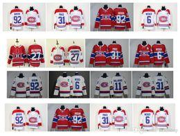 2019 camisetas de hockey nhl montreal canadiens NHL Montreal Canadiens Jersey 31 Carey Precio 6 Shea Weber 13 Max Domi 15 Jesperi Kotkaniemi 92 Jonathan Drouin 100 Camisetas de hockey clásicas camisetas de hockey nhl montreal canadiens baratos