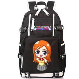 1a38b63887c9 Inoue Orihime backpack Beach girl day pack Nice anime school bag Print  packsack Computer rucksack Sport schoolbag Outdoor daypack