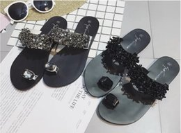Neue art und weise hoher hefterzufuhr online-Neue Frau Designer Schuhe Kette Design Pantoffeln Sandalen Gummi gleitet Qualitäts-Sommer Slipper Mode Scuffs Slippers Flip Flops