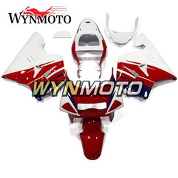 1993 motorcycles Coupons - ABS Plastic Full Fairings For Honda NSR250R-SP NC21 P3 1990 1991 1992 1993 NSR250 NC21 90 91 92 93 Motorcycle Cowlings Gloss Red White Cover