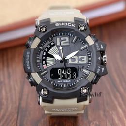 2019 Calidad G Estilo Relojes para hombre LED Hombre Reloj de Choque Al Aire Libre Reloj Militar Reloj Digital reloj hombre Fecha Hombre Relojes de Alarma desde fabricantes