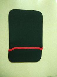 """Caso de antena on-line-Anfilite 10 pcs 7 polegadas navegador listrado à prova de choque anti-poeira saco caso manga saco macio usado para 7"""" comprimido e de navegação GPS"""