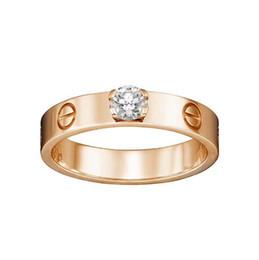Deutschland Berühmte Designer-Marke Ring 925 Sterling Silber Diamant-Ring Paare heiraten engagiert Luxus Brief Ring Geschenk cheap gift marry Versorgung