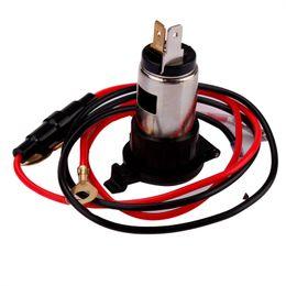 2019 eu plug mini cargador de coche Car Styling 12V 120W Coche Moto Tractor de barco Encendedor de cigarrillos Toma de corriente Enchufe @ # 120