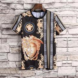 против горячего Скидка 2019 новый дизайнерский бренд футболки для мужчин топы горячего бурения с коротким рукавом футболки женские топы M-3XL бесплатная доставка