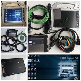 hardbook portátil Rebajas Gratis DHL MB Star C4 Star Diagnosis con Laptop Toughbook CF-h2 WIFI MB SD connect compact 4 V2019.03
