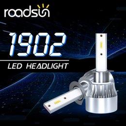 2019 ampoules h8 lumineuses H8 / H9 / H11 / 9005 / HB3 / H10 / 9006 / HB4 LED phares super bright LED Ampoule Bar promotion ampoules h8 lumineuses