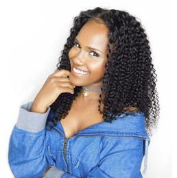 Kinky curly afro voller spitze frisur online-neue frisur brasilianisches haar afrikanische afro lange lang verworrene lockige volle perücke