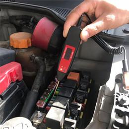 medidor de circuito Rebajas Medidor de voltaje Pluma Circuito del coche Universal 5-36 V LCD Circuito digital Probador Analizador Potencia Sonda Herramienta de diagnóstico automotriz
