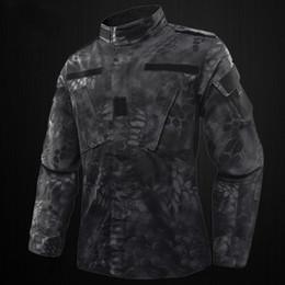 Üniforma Giyim Seti Açık Ceket + Pantolon ABD RU Ordu Kamuflaj Üniforma Erkekler BDU Multicam Camo ~ supplier army camo uniforms nereden ordu camo üniformaları tedarikçiler