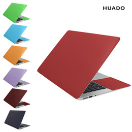 Adesivos cobrindo macbook air on-line-Universal Laptop Skin 14 polegadas 13.3 15.6 17 Cor Sólida Notebook Adesivos Laptop Tampa Da Pele Para Macbook / lenovo / acer / xiaomi Air / hp T6190615