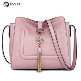 fb4990537e HOT petits sacs en cuir véritable femmes ZOOLER sacs à main de luxe femme  sacs designer sac à bandoulière cross body ladies main # C102 # 187257