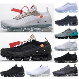 voar fora Desconto Clássico fora da Mosca 1.0 2.0 3.0 Malha Flagship Sneakers Das Mulheres Dos Homens Triplo Branco Preto Knitting Fashion Trainers Formadores Sapatos Tamanho36-45