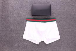 animais sexy Desconto Marca Mens Cuecas Casuais Marcas Boxer com Carta Animal Imprimir Apliques Homens Frescos Sexy Underwear 6 Cores