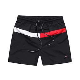 mens orange swim shorts Coupons - Wholesale new Crocodile embroidery Board Shorts Mens Summer Beach Shorts Pants High-quality Swimwear Bermuda Male Letter Surf Life Men Swim