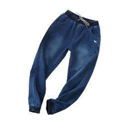 2019 stickerei jeans junge Baby Hosen Kinder Jeans Junge Kleidung Lässige Hosen Stricken Stickerei Cartoon Tier Jungen Hosen Hohe Taille Jeans 41 günstig stickerei jeans junge