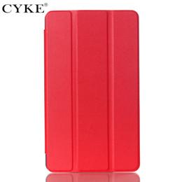 Tavoletta dello schermo online-CYKE Custodia universale regolabile in pelle PU per cover per NVIDIA Shield Tablet K1 / 8 con funzione Auto Sleep Wake