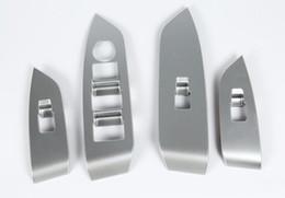2019 faróis mercedes benz Para Mazda CX-5 2017 4 PCS ABS Porta Chrome braço Glass Window Lifter botão do quadro decorativa Capa guarnição Car Styling Acessórios