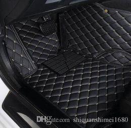 2020 cuoio mercedes benz piede 3D Car Mats cuoio di lusso Tappetini per TOYOTA BMW BENZ Mazda CX-5 3 Ford Hyundai land cruiser Volkswagen Skoda Nissan # 5550 sconti cuoio mercedes benz