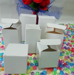 scatola diy Sconti Scatole di regalo piccole della scatola di carta kraft  bianca 50pcs per la a97911ce9921