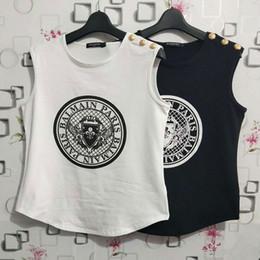 diseño de la camiseta Rebajas Diseño de la camiseta para mujer de Balmain Diseño de la moneda Camisas de las mujeres Suéter de las mujeres de la marca de lujo Ropa de las mujeres de Balmain