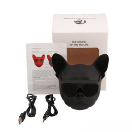 Mini Portable Bulldog Sans Fil Bluetooth Haut-Parleur Téléphone Portable Ordinateur De Bureau Audio Sans Fil TF Carte Lecteur Plein Chien MP3 Haut-Parleur 012 ? partir de fabricateur