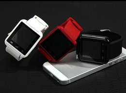 ce relojes Rebajas Reloj U8 Smart Watch Bluetooth Reloj SmartWatch con altímetro y motor para iPhone 7 6 6S Plus Samsung S8 Pluls S7 edge Android Apple Ce