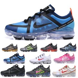 Lady max online-nike Vapormax air max airmax Nuevo 2019 Casual Vap o zapatos TN Plus Maxes Mujer Shock Running Shoes Run Utility Fashion Mens Ladies Sports Sneakers size US 5.5 ~ 12 JQ96C-KC
