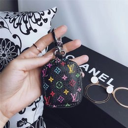 Flower Designer Luxury auriculares Estuche para auriculares resistencia a la caída caja de auriculares de compresión portátil Bluetooth auriculares bolsa de almacenamiento desde fabricantes
