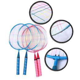 Punta di punta online-1 paio di racchette da badminton per bambini per bambini, tuta sportiva in cartone animato per bambini
