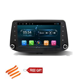 rádio para toyota yaris Desconto Octa Core 1din rádio de carro android com 1024 * 600 Tela HD Android 8.1 Carro DVD de navegação GPS Playerfor Hyundai i30 2017 com Rádio 3G Wifi