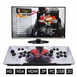 Pcb bluetooth online-Neuester Pandora 3D Box Arcade Spiele-Konsole 2650 in 1 Spiel PWB-Brett-Konsole mit LED-Tasten-Spiel Maschine HDMI VGA-Ausgang