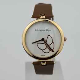 Лучшие спортивные наручные часы онлайн-Лучшие продажи дамы 5 цвет ремень бабочка поверхности Марка часы часы роскошные МОДА СТИЛЬ случайные спортивные подарки