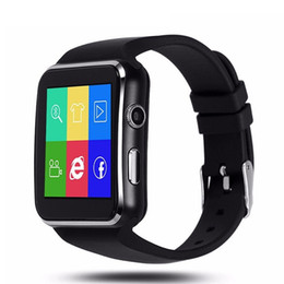 android smart watch for whatsapp camera Promo Codes - X6 Smart Watch With Camera Touch Screen Support SIM TF Card 8G Bluetooth Smartwatch Whatsapp Facebook for iPhone Android Phone