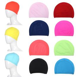 fb3a2e0a872 uomini di cappelli di nylon Sconti Cuffie protettive flessibili Cuffie da  nuoto Cuffie da nuoto per