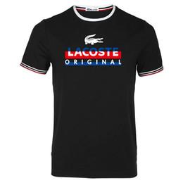 magliette morbide in cotone mens Sconti Mens T-Shirt francese Mens Brand Designer Lettera Stampa Logo Fashion Casual Avant-Garde Cotone maniche corte Soft T-Shirt