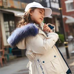 große jungs daunenjacke Rabatt 2019 Kinder Kleidung New koreanische Version des dicken Mädchen in der großen Jungen weiße Ente Daunenjacke