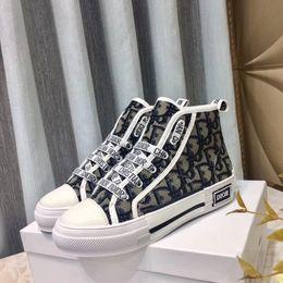 Top moda zapatos casuales diseñador de lujo de las mujeres zapatillas de deporte de alta calidad high-top para mujer tenis zapatos de entrenamiento botas Con caja original desde fabricantes